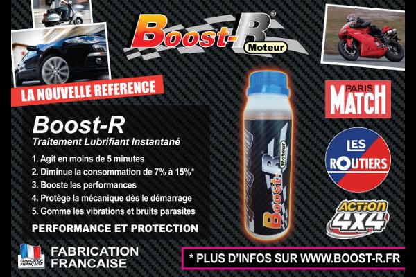 Boost-R : économisez jusqu'à 15% de carburant tout en protégeant votre moteur